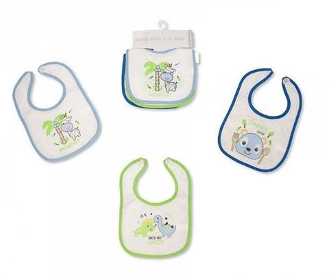 Śliniaki z ceratą Nursery Time 3pack