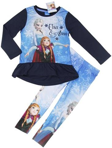 Set for girls Frozen, leggins