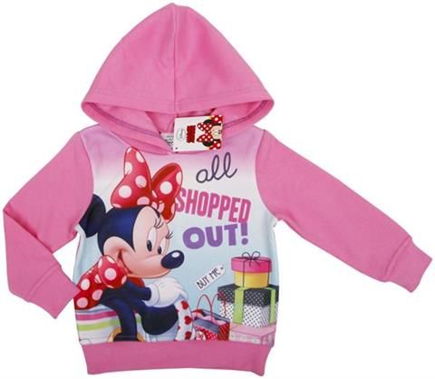 Hoodie, warm sweatshirt for kids, shop with children's clothing, trendy toddler, Minnie Mouse, Disney clothing